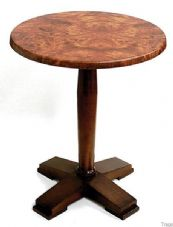 Tempo Wooden Single Dining Table Base